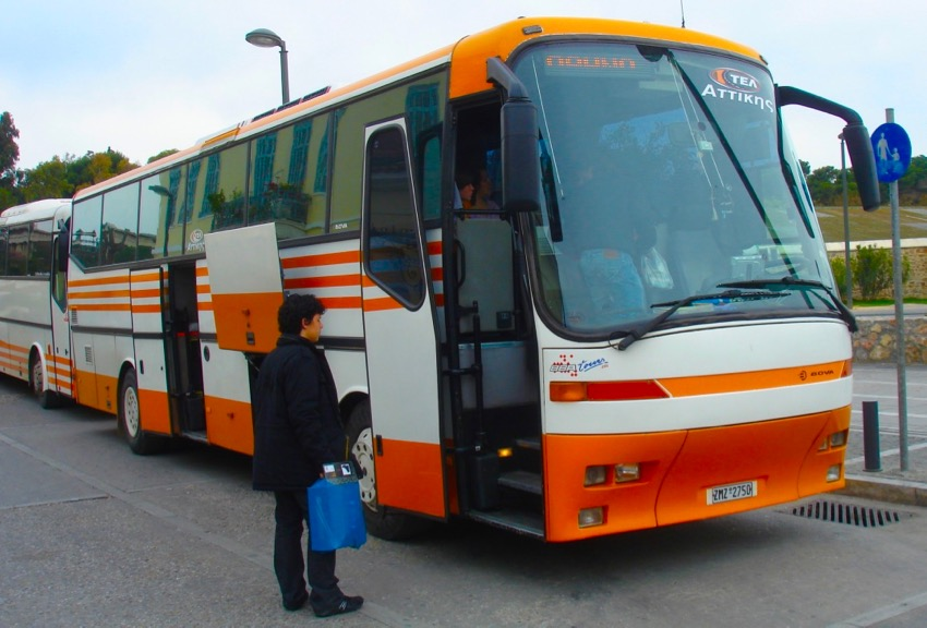 dc9deb4b626 Athens Public Transportation: Buses, Tram and Trolleys