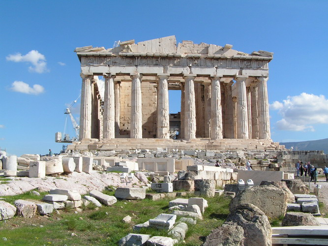The Acropolis - Sights