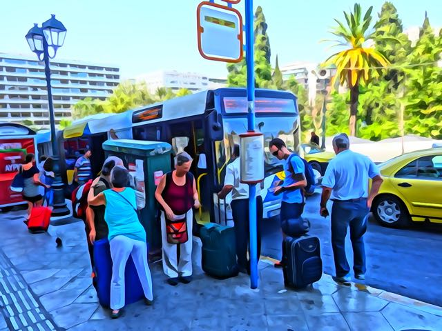 Syntagma Airport Bus