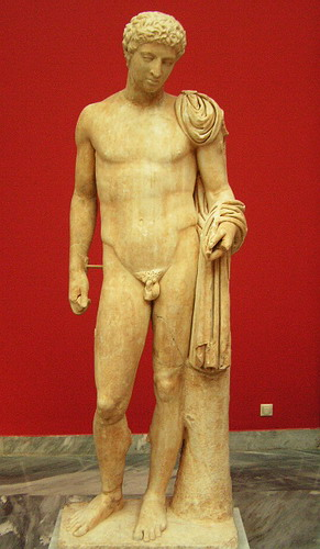 Photo-National Archaeological Museum - Statue of Hermes