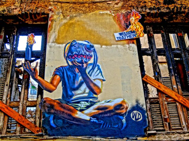 Graffiti Art in Athens