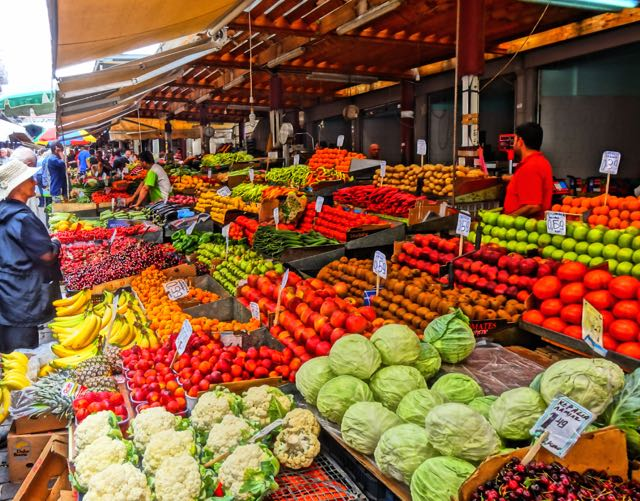 Athens Fruit and Vegetable Market