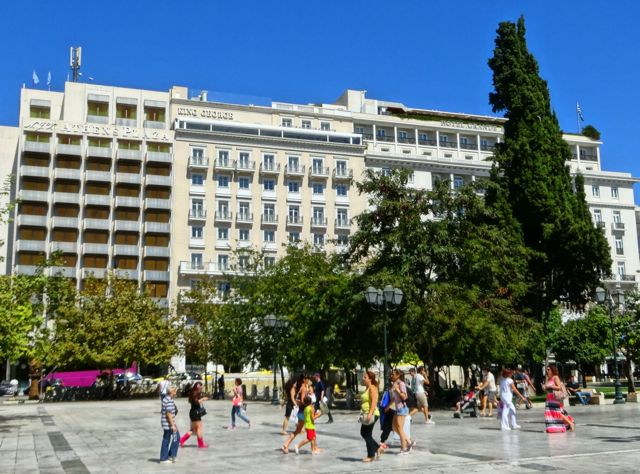 Athens hotels in Syntagma Square