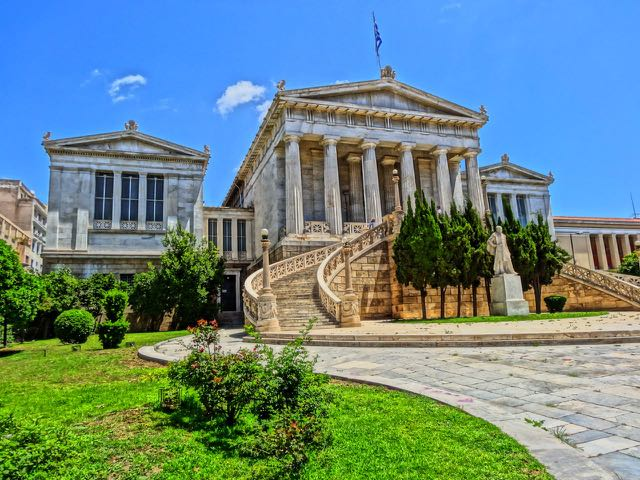 Library at Athens University