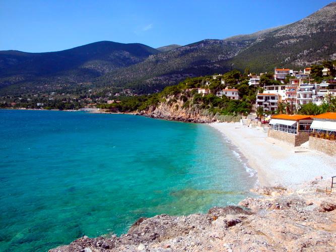 Islands Beaches Near Athens