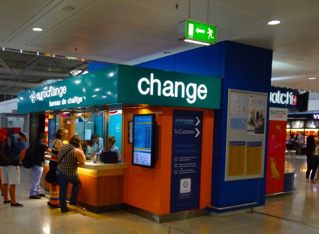 Euro Change Athens Airport