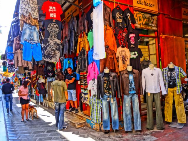 Monastiraki Clothing Shop, Athens