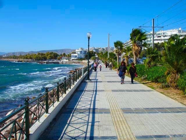 Coastal Athens Faliron Glyfada Voula Vouliagmeni Varkiza - How much does it cost to go to greece