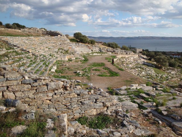 Ancient Theater in Lavrion