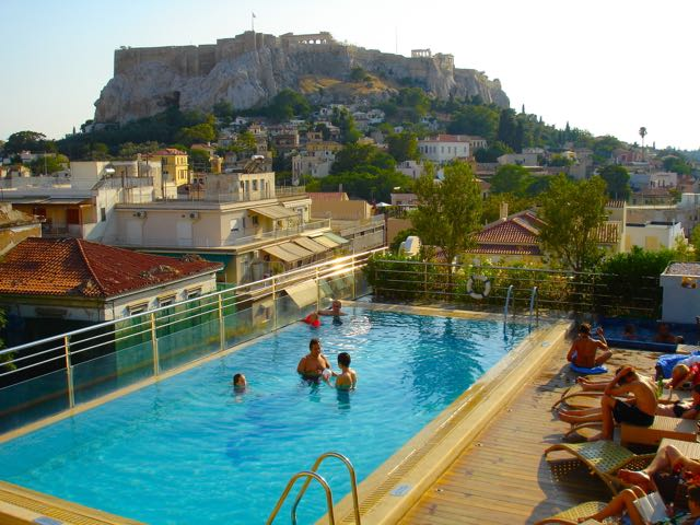 Athens Hotels: Electra Palace pool
