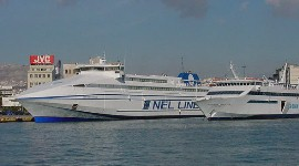 Greek Ferry Aeolis Express