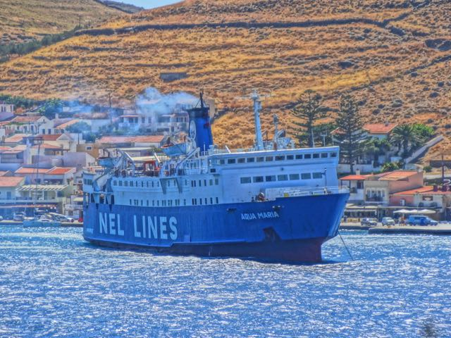 Agoni Grami Ferry from Syros