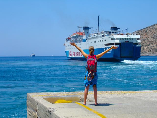 Athens survival guide greek ferry information ferry boat return to pireaus sciox Images