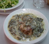 Greek Food: Lamb fricasse