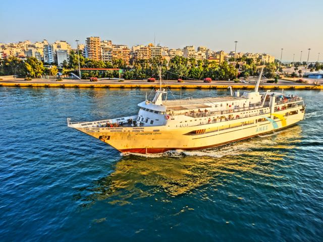 how to get from aegina to hydra