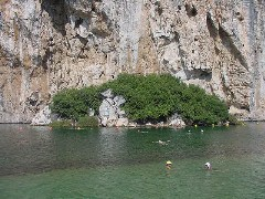 Athens Greece: Lake Vouliagmeni Health Spa