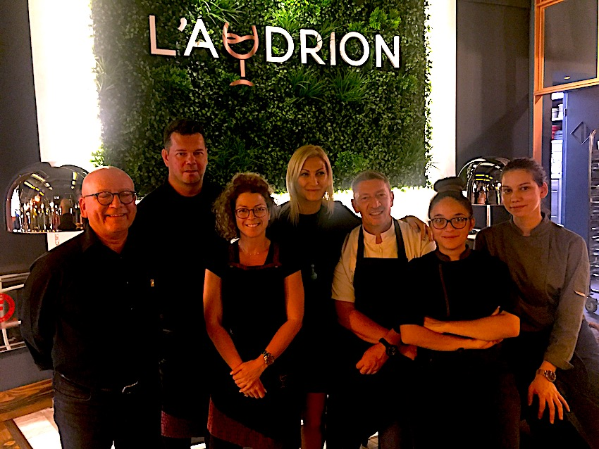 L'Audron French restaurant, Athens