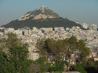 Lycabettus: The View over Athens