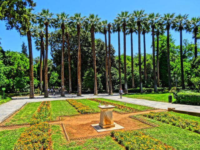 Athens Guide The National Garden Zappion Panathenaic
