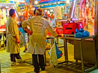 Athens Meat, Fish and Vegetable Market