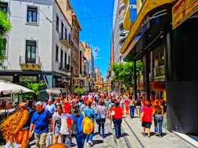 Athens walking tour
