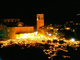 Easter in Athens