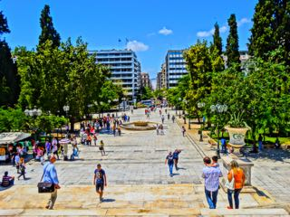 Athens Syntagma Square