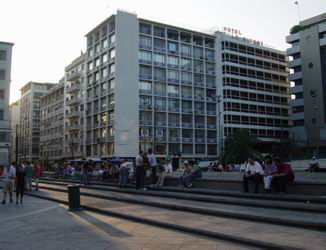 Omonia Square, Athens, Greece