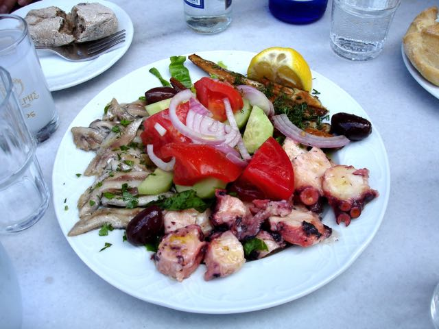 Ouzo Meze at To Kafeneion