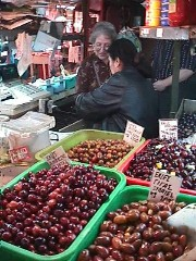 Athens Central Market-Olives
