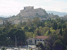 Fall in Athens, Greece