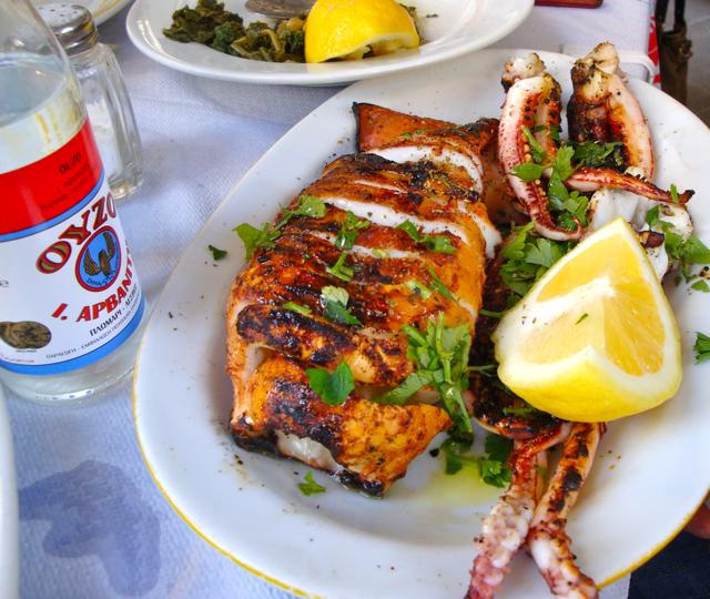 Best Food In Greek Islands
