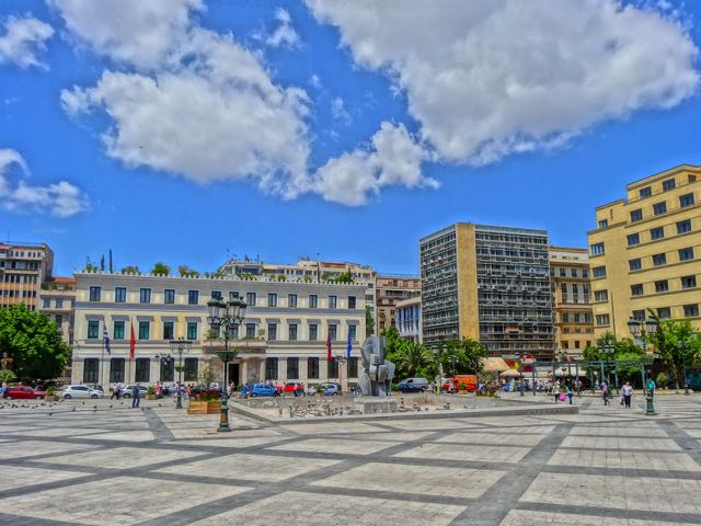 Dimarchos Square or Platia Kotzias, Athens, Greece