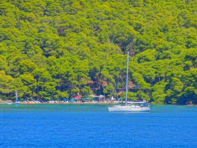 Sailboat in Poros