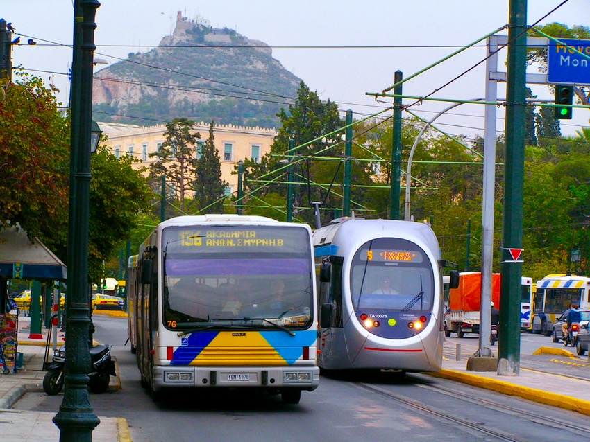 Schedules for Athens Trains and Buses