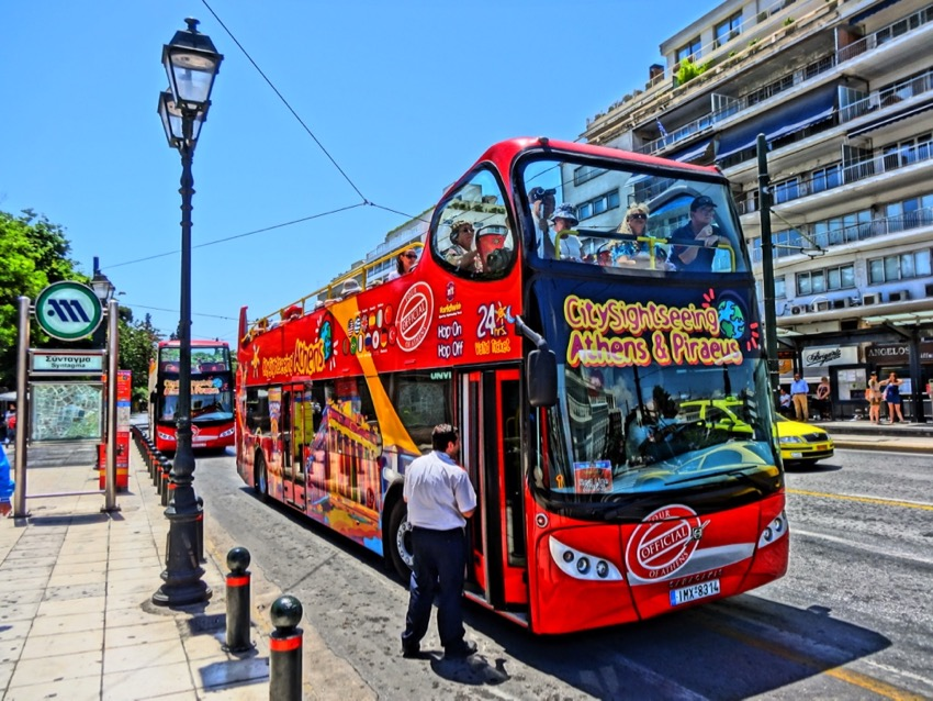 Athens Public Transportation: Buses, Tram and Trolleys