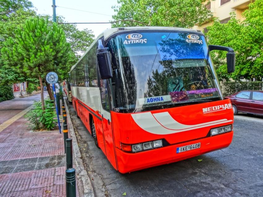 Athens, Greece: Local Buses