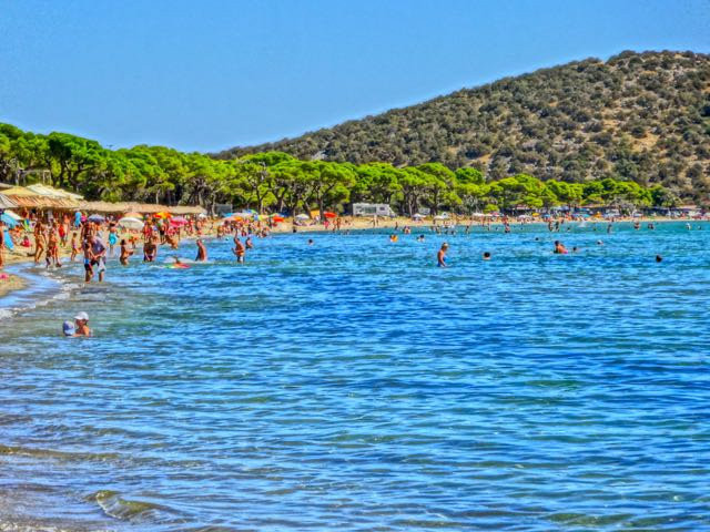 Schinias Beach near Athens