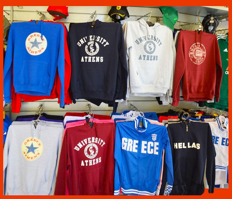 George Dolkas T-Shirt Shop in Athens, Greece