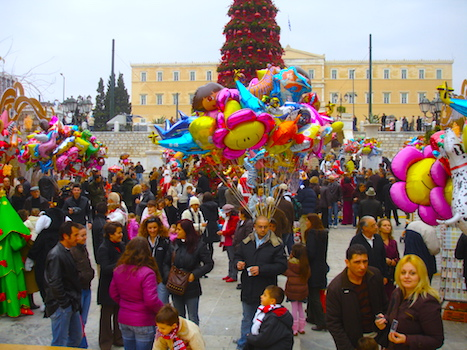 Christmas in Syntagma