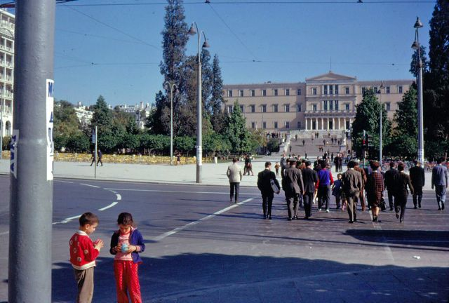 Syntagma Square 1963