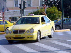 Taxi in Athens: George The Famous Taxi Driver of Greece