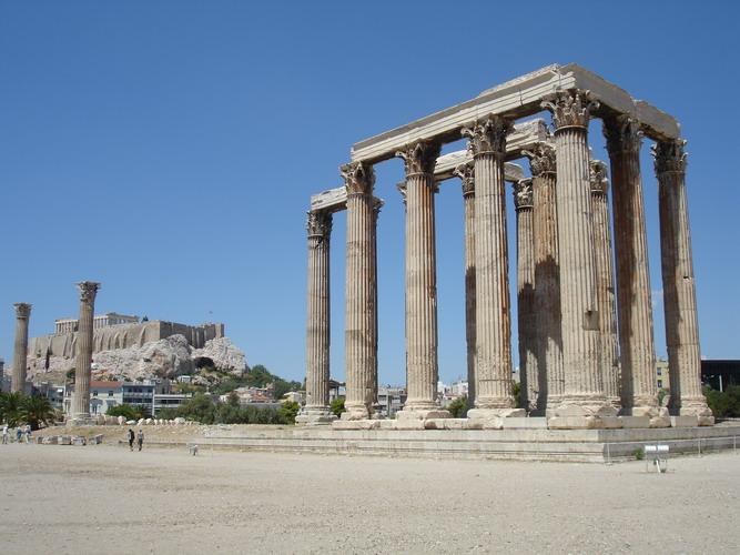 Photos-Temple of Olympian Zeus