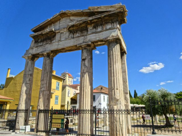 Plaka: Gate of the Roman Agora