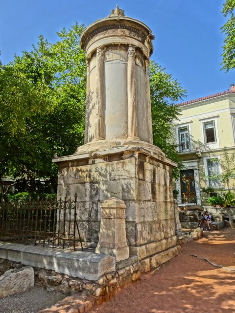 Monument to Lissikratous, Plaka