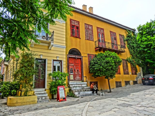 Houses in the Plaka