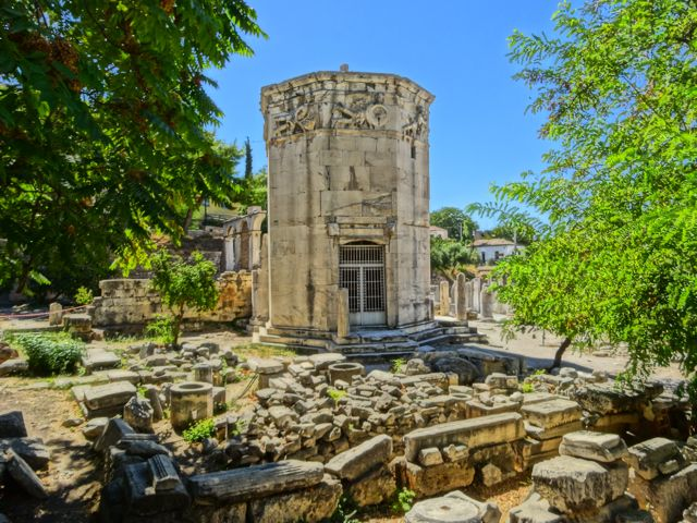 Plaka: Tower of the Winds
