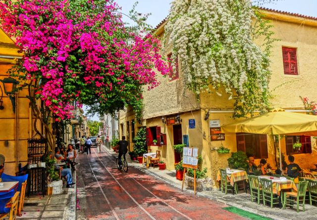Plaka, Athens, Greece