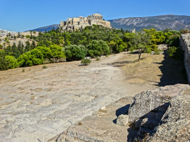 Acropolis from Pnyx Hill, Thission