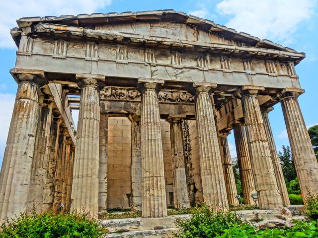 Thission, Temple to Hephaestus